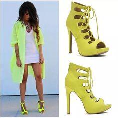 Unos lindos zapatos, los encuentras en Lula #shoes #calzado #zapatos #tacones #Mujer #women #mujeres #latina #fashion #moda #goodlooking #green #verde #original #style #elegant #cute #instadiseño #cccuartaetapa #bucaramanga
