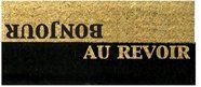 Bonjour Au Revoir Doormat