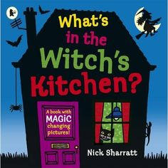 Book, What's in the Witch's Kitchen? by Nick Sharratt