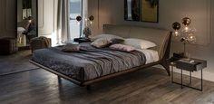 Cattelan Italia Nelson bed by Andrea Lucatello