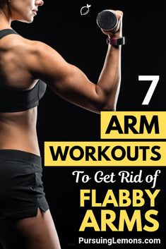Here are 7 arm workouts exercises that you can do easily to build toned arms. It's time to bring back those sexy arms of yours! Lose Weight In A Week, Losing Weight Tips, How To Lose Weight Fast, Weight Loss, Lose Fat, Weight Lifting, Upper Body Workout Routine, Exercise Routines, Bicep Muscle