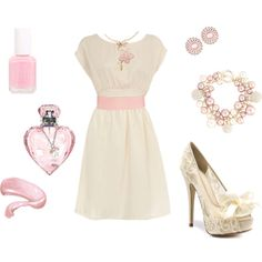 Pretty in Pale Pink, created by erinelisabeth29 on Polyvore