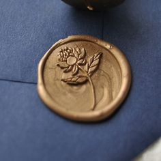Traditional Wax Seal Stamp with Peony flower design. Designed by Seniman Calligraphy Seal Size: inch) Card Box Wedding, Wedding Stationary, Wedding Paper, Wedding Invitations, Seal Design, Stationery Store, Wax Seal Stamp, Rose Gold Foil, Peony Flower