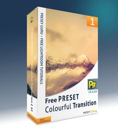 Free Lightroom Preset: Colourful Transition