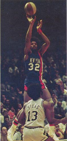 Julius Erving, New York Nets, 1975-76