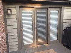 old 3 panel patio door replacement - columbus ohio House, Custom Drapes, House Windows, Garage Doors, Curtains, Replacement Patio Doors, Replace Door, Garage Door Design, Home Construction