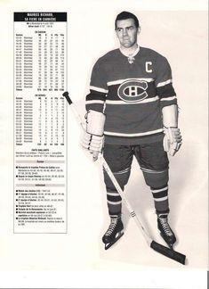 Maurice Richard Canadiens de Montréal Go Habs Go ! Montreal Canadiens, Mtl Canadiens, Maurice Richard, Ice Hockey Teams, Hockey Players, Hockey Highlights, Hockey World, Canada, National Hockey League