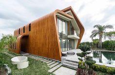 Projeto faz parte de condomínio residencial somente com casas sustentáveis na Turquia