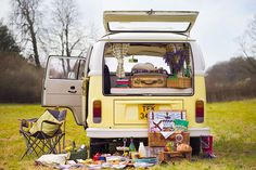 Hire a VW Campervan from Buttercup Bus