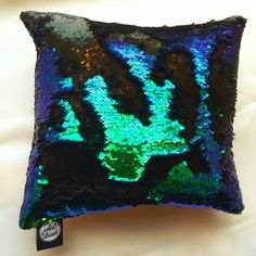Mermaid Double Sided Sequin Throw Pillow