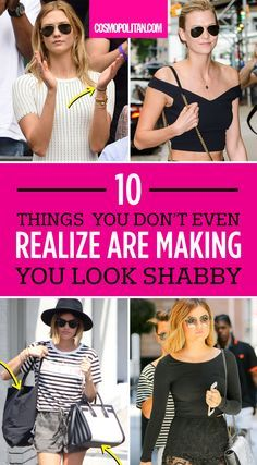 HOT MESS TO HOT: These little style tweaks can make all the difference. You already know that stains, rips, and wrinkles can ruin your outfit, but you may be missing these little outfit details that just don't work. Click through to find out the biggest offenders and how to easily fix them!