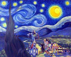 van gogh starry night - Google Search