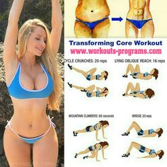 Transforming Core Workout