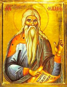 """orthodoxfellowship: """"Today we celebrate the Righteous Philaretos the Merciful. Saint Philaretos was born to Christian parents and was raised in piety and the fear of God. Orthodox Icons, Byzantine Art, Best Icons, Christian Art, Byzantine"""