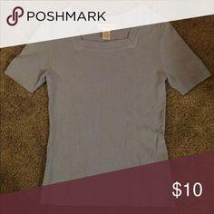Shirt Light blue, short sleeved shirt. Sag Harbor Tops