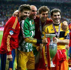 Fernando Llorente - Spain v Italy - UEFA EURO 2012 Final