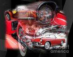 Red Car Dreams by John Rizzuto