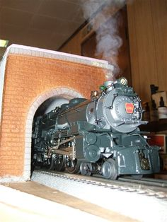 tunnel time - Toy Train Layouts - Classic Toy Trains - Trains.com online community