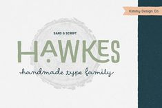 Hawkes Handmade Collection: 74% OFF by Kimmy Design on @creativemarket