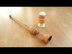 "Der ""Eierschalensollbruchstellenverursacher"" - Drechseln - woodturning - YouTube"