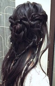 elvish hairstyle <3