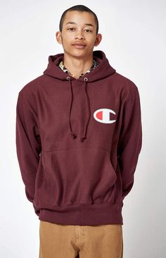 8c6a7bb3781 Champion Big C Reverse Weave Pullover Hoodie at PacSun.com