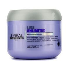 LOreal Professionnel Expert Serie  Liss Unlimited Smoothing Masque For Rebellious Hair  200ml676oz by LOreal Paris * Check this awesome product by going to the link at the image.