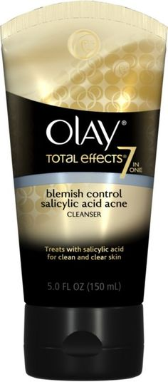 Olay total effects cream cleanser blemish control ulta com