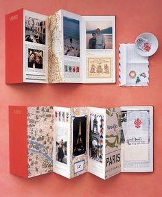 Make accordion books to display documentation
