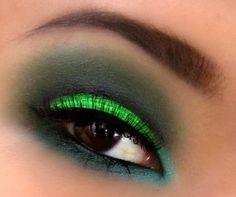 Acid Green Cut Crease
