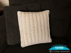 How to create the look of crocheted cables with just single crochet and chain stitches!