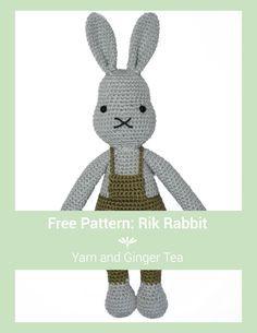 Mesmerizing Crochet an Amigurumi Rabbit Ideas. Lovely Crochet an Amigurumi Rabbit Ideas. Crochet Amigurumi, Amigurumi Doll, Amigurumi Patterns, Crochet Dolls, Crochet Yarn, Crochet Patterns, Love Crochet, Crochet For Kids, Ginger Tea