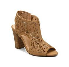 Peep Toe Booties Boots Women's Shoes Mid Heel High Heel Mid Heel | DSW.com