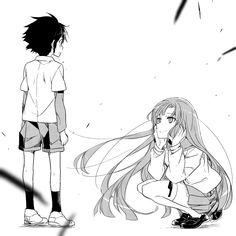 Yuichiro Hyakuya and Mahiru Hiiragi - Owari no Seraph