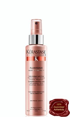 Kerastase Discipline Fluidissime is quickly becoming one of the must-haves on your daily haircare list. This simple leave-in lotion can give your hair the look of perfection while also protecting it from damage at the very same time. All you have to do to get the protection that Kerastase Discipline Fluidissime offers is put the product on freshly cleaned and towel-dried hair, then dry, style, and treat your hair like normal.