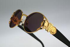 660ef65460c6 Fendi FS 296   90s Vintage sunglasses   NOS   Stunning round shade