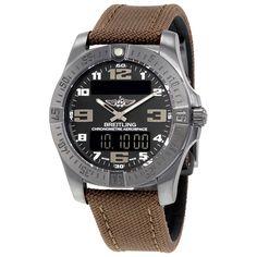Breitling Aerospace Evo Night Mission Black Dial Quartz  Men's Watch V7936310-BD60BRFD