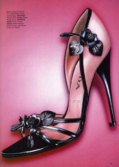 Trendy High Heels For You: Picture DescriptionPrada Hot Shoes, Crazy Shoes, Me Too Shoes, Shoes Heels, Strappy Heels, Stilettos, Peep Toe Pumps, Pink Pumps, Beautiful Shoes