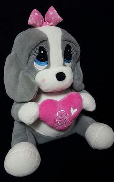 Dan Dee Sad Sam & Honey Plush Stuffed Dog Sad Eyes Be Mine 16in #DanDee