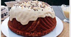 Bundt cake de chocolate y crema pastelera