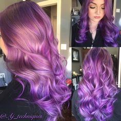 Lavender dreams!! Love this. I used joico for this look!