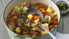 Irish Stew (Irischer Eintopf) mit Wirsing