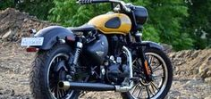 Modified Royal Enfield Classic 350 India – Bullet Mod Orange