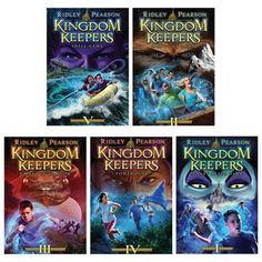 kingdom keepers books | Back to The Kingdom Keepers Book Series