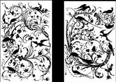 Emery & cie - Wallpapers - Metre - Models - Mechants Oiseaux - Prices