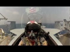 ▶ Strike Fighter Squadron - USS Enterprise - Cockpit Camera - Amazing Aerial Footage of Fighter Jet - YouTube