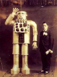 Image result for vintage robot