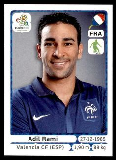 PANINI EURO 2012 - Adil Rami France No. 465 - EUR 1,11. Excellent condition. Taken directly from packet. Lots more cards and stickers at www.ebaystores.co.uk/gumcardshop Please see front & back photographs.If you need more detailed photographs let me know and I'll be happy to help. ***If you require more than one card please add each one to your basket. Your combined postage total will be shown before checking out. International buyers may have to log in to the ebay UK site to receive combined s Fifa World Cup France, Dundee United, Uk Sites, Euro 2012, European Championships, Football Cards, Photographs, Basket, Stickers