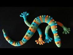 Lagartija amigurumi tejida a crochet (amigurumi lizard) - YouTube