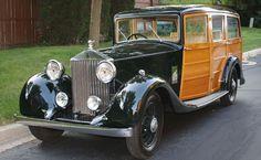 1935 Rolls-Royce Shooting Brake Woodie.